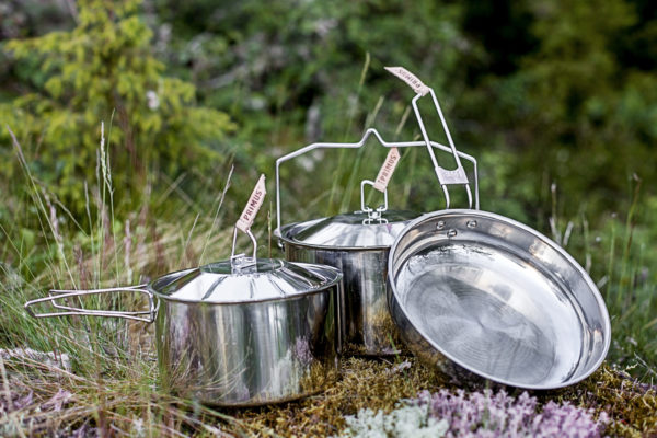 P738001 Ss18 A Campfire Cookset Ss Large Primus 22