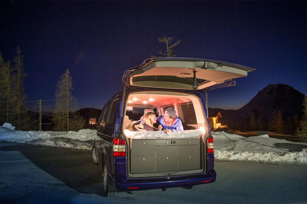 Schlafen - SOULBOXX, Campingausstattung